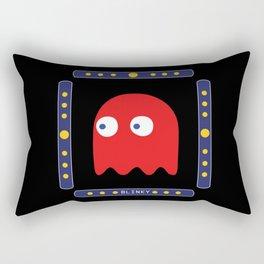 Blinky Just Arrived! Rectangular Pillow
