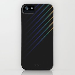 Rainbow in the Night iPhone Case