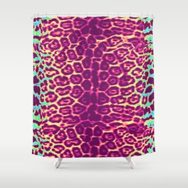jaglegs magenta Shower Curtain