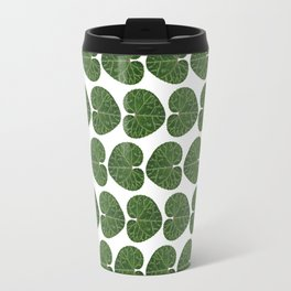 Cyclamen leaf pattern Travel Mug