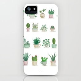 Tiny garden iPhone Case