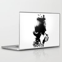 soldier Laptop & iPad Skins featuring WOMAN SOLDIER by kravic