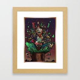 Mystic Awakening Framed Art Print