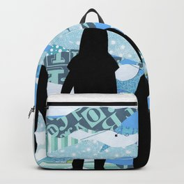 Lake Silhouettes Backpack