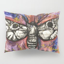 Splatter Moth Pillow Sham