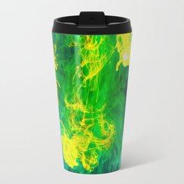 Multi - Coloured Inks Travel Mug