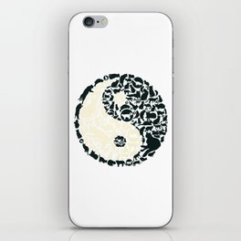 Yin-Yang Cats - FELT iPhone Skin