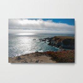 Bodega Cliffs Metal Print
