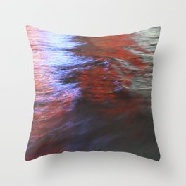 Citylights: Hong Kong Harbour #7 - RIGHT - Triptychon Throw Pillow