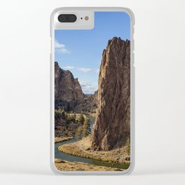 River and Rock Clear iPhone Case