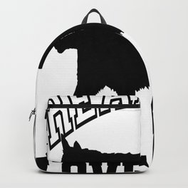 Real Men Love Cats Tee Backpack