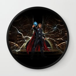 THOR - Son Of Odin Wall Clock