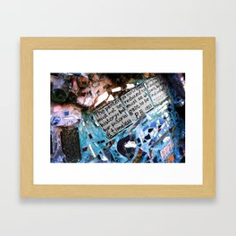 Magic Gardens Framed Art Print