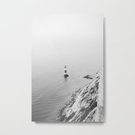 LIGHTHOUSE VI / Beachy Head Metal Print