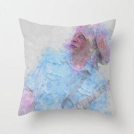 Rick Parfitt Throw Pillow