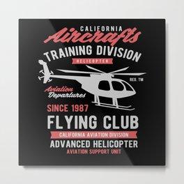 California Aircrafts Metal Print