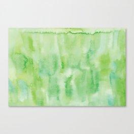 Watercolor abstract many color no.18 Canvas Print