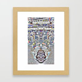 chrysalis as chaos catalyst Framed Art Print
