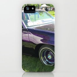 purple low-low iPhone Case