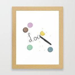 Love is Better Framed Art Print