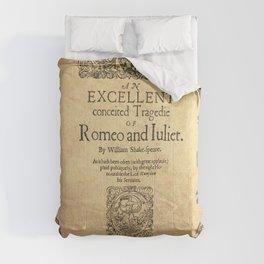 Shakespeare, Romeo and Juliet 1597 Comforters