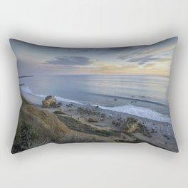 Ocean View from the Beach Rectangular Pillow