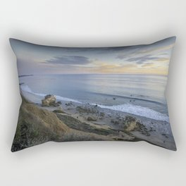 Ocean View from the Beach Rectangular Pillow