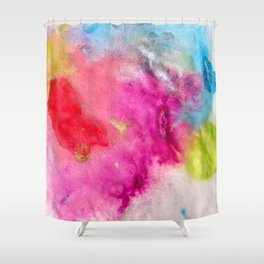 Splats Shower Curtain