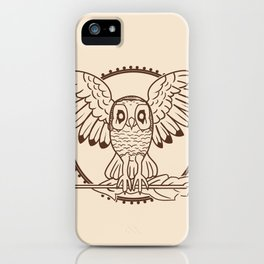 Mystical Owl iPhone Case