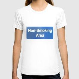 Non Smoking Area T-shirt