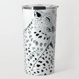 Leopard heart Travel Mug