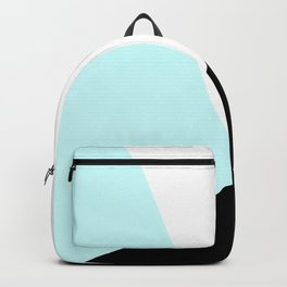 Trichromatic Aqua Blue Backpack