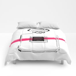 Pink Perfume #5 Comforters