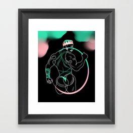 lonniedraws x eddy ceetee Framed Art Print
