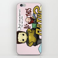 data iPhone & iPod Skins featuring Data Overload by Ai-hime