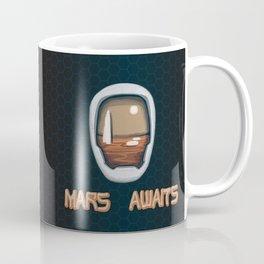 Mars Awaits Coffee Mug