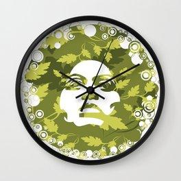 Natural Afro Wall Clock