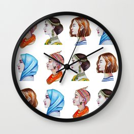 Women for the world Wall Clock