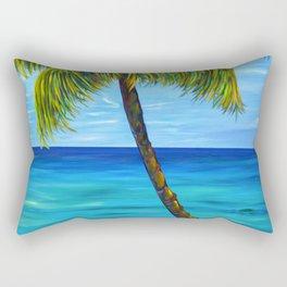 Maui Beach Day Rectangular Pillow