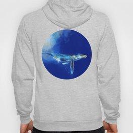 Deep Blue Whale Hoody