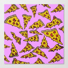 Pizza For Daze Canvas Print
