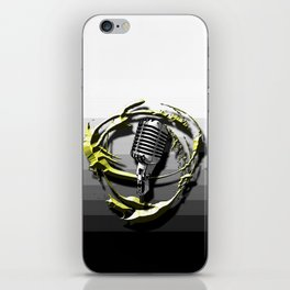 Music - Vocals iPhone Skin