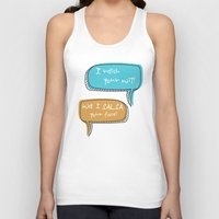 parks Tank Tops featuring Parks and Recreation by Elanor Jarque