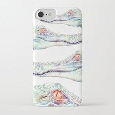 Albino Alligator Slim Case iPhone 7