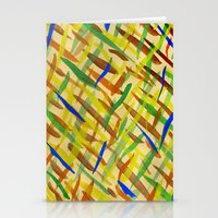 the strokes Stationery Cards featuring brush strokes by littlesilversparks