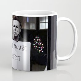 Michael Myers in Love Actually Coffee Mug