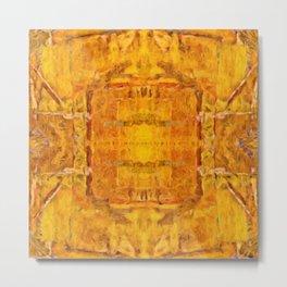 Gold Pattern no 1 Metal Print