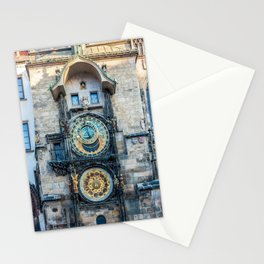 Prague Astronomical Clock Stationery Cards