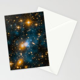 Cosmos 2, When stars collide (enhanced version) Stationery Cards