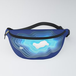 Mysterious Well - Great BLUE Fanny Pack